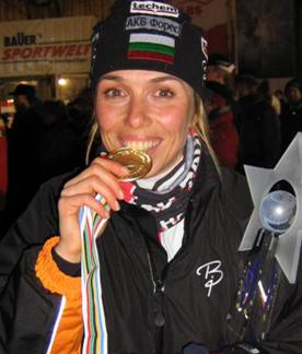 Павлина Филипова - една от най-обичаните български биатлонистки!